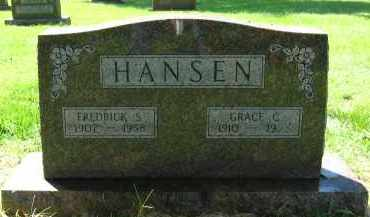HANSEN, FREDRICK S. - Douglas County, Nebraska | FREDRICK S. HANSEN - Nebraska Gravestone Photos
