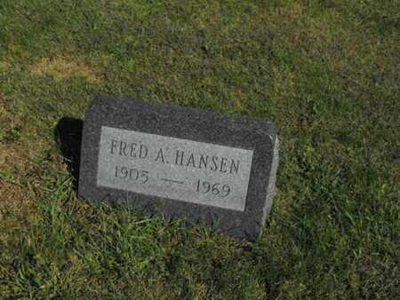 HANSEN, FRED - Douglas County, Nebraska | FRED HANSEN - Nebraska Gravestone Photos