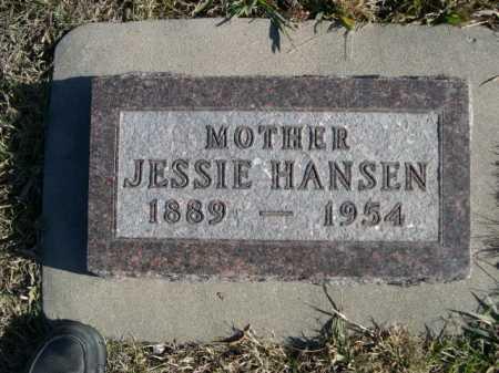 HANSEN, JESSIE - Douglas County, Nebraska   JESSIE HANSEN - Nebraska Gravestone Photos