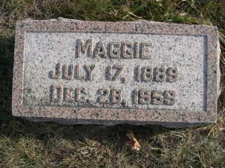 HANSEN, MAGGIE - Douglas County, Nebraska | MAGGIE HANSEN - Nebraska Gravestone Photos