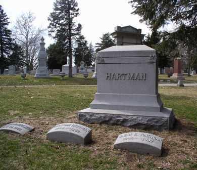 HARTMAN, MONUMENT - Douglas County, Nebraska   MONUMENT HARTMAN - Nebraska Gravestone Photos