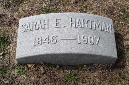 HARTMAN, SARAH E. - Douglas County, Nebraska | SARAH E. HARTMAN - Nebraska Gravestone Photos