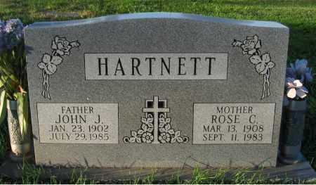 HARTNETT, JOHN J. - Douglas County, Nebraska | JOHN J. HARTNETT - Nebraska Gravestone Photos