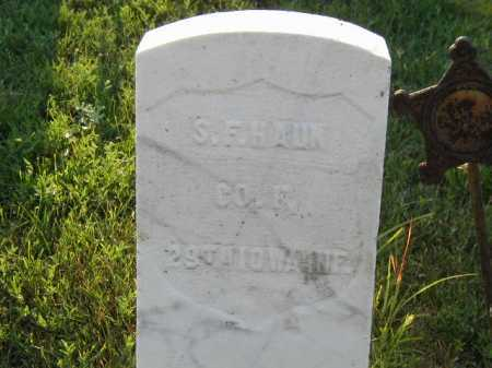 HAUN, S. F. - Douglas County, Nebraska | S. F. HAUN - Nebraska Gravestone Photos