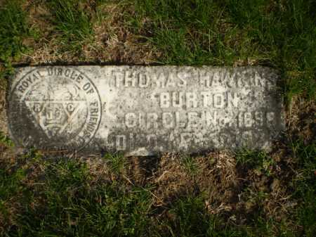 HAWKINS, THOMAS - Douglas County, Nebraska   THOMAS HAWKINS - Nebraska Gravestone Photos
