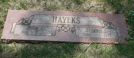 HAYEKS, HOPE A. - Douglas County, Nebraska | HOPE A. HAYEKS - Nebraska Gravestone Photos