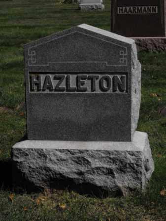 HAZLETON, FAMILY - Douglas County, Nebraska | FAMILY HAZLETON - Nebraska Gravestone Photos