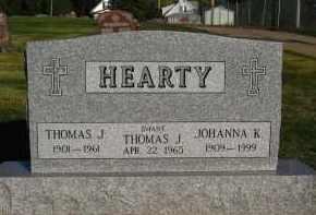 HEARTY, JOHANNA K - Douglas County, Nebraska | JOHANNA K HEARTY - Nebraska Gravestone Photos
