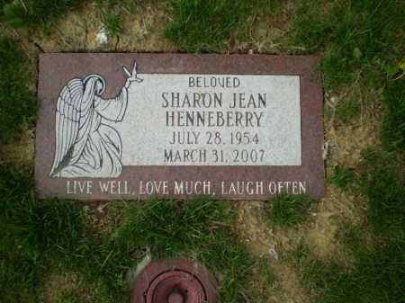 HENNEBERRY, SHARON JEAN - Douglas County, Nebraska   SHARON JEAN HENNEBERRY - Nebraska Gravestone Photos