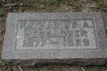 HESBACHER, KATHARINE A. - Douglas County, Nebraska | KATHARINE A. HESBACHER - Nebraska Gravestone Photos