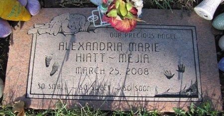 HIATT-MEJIA, ALEXANDRIA MARIE - Douglas County, Nebraska   ALEXANDRIA MARIE HIATT-MEJIA - Nebraska Gravestone Photos