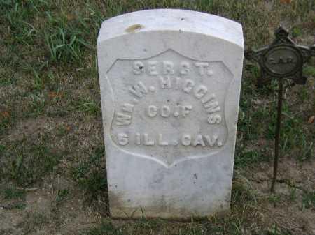 HIGGINS, WILLIAM W - Douglas County, Nebraska | WILLIAM W HIGGINS - Nebraska Gravestone Photos