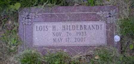 HILDEBRANDT, LOIS H - Douglas County, Nebraska   LOIS H HILDEBRANDT - Nebraska Gravestone Photos
