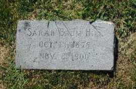 BAUM HILL, SARAH - Douglas County, Nebraska | SARAH BAUM HILL - Nebraska Gravestone Photos