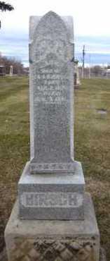 HIRSCH, LAURA - Douglas County, Nebraska | LAURA HIRSCH - Nebraska Gravestone Photos