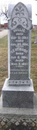 HIRSCH, GERTRUDE - Douglas County, Nebraska | GERTRUDE HIRSCH - Nebraska Gravestone Photos