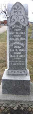 HIRSCH, NELLIE - Douglas County, Nebraska   NELLIE HIRSCH - Nebraska Gravestone Photos