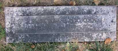 HITCHCOCK, JESSIE CROUNSE - Douglas County, Nebraska | JESSIE CROUNSE HITCHCOCK - Nebraska Gravestone Photos