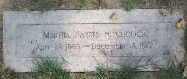 HITCHCOCK, MARTHA - Douglas County, Nebraska | MARTHA HITCHCOCK - Nebraska Gravestone Photos