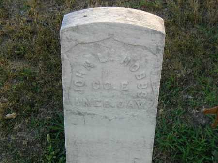 HOBBS, JOHN L - Douglas County, Nebraska   JOHN L HOBBS - Nebraska Gravestone Photos