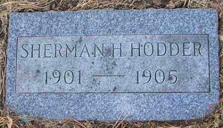 HODDER, SHERMAN H. - Douglas County, Nebraska | SHERMAN H. HODDER - Nebraska Gravestone Photos