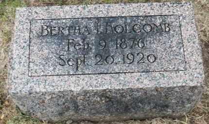 HOLCOMB, BERTHA - Douglas County, Nebraska | BERTHA HOLCOMB - Nebraska Gravestone Photos