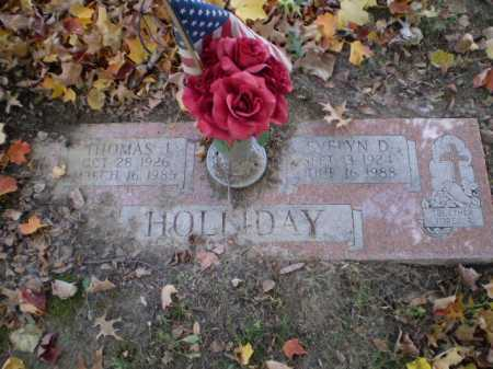 HOLLIDAY, THOMAS J - Douglas County, Nebraska | THOMAS J HOLLIDAY - Nebraska Gravestone Photos