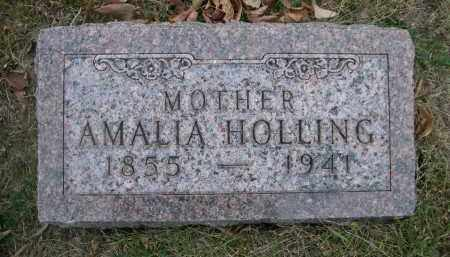 HOLLING, AMALIA - Douglas County, Nebraska   AMALIA HOLLING - Nebraska Gravestone Photos