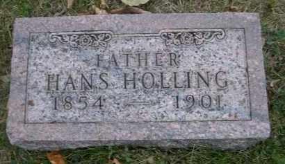 HOLLING, HANS - Douglas County, Nebraska   HANS HOLLING - Nebraska Gravestone Photos