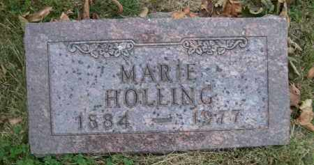 HOLLING, MAARIE - Douglas County, Nebraska   MAARIE HOLLING - Nebraska Gravestone Photos