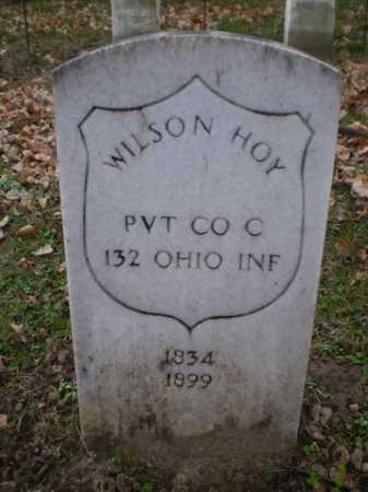 HOY, WILSON - Douglas County, Nebraska | WILSON HOY - Nebraska Gravestone Photos
