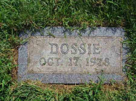 YOUNGER ISAACSON, DOSSIE - Douglas County, Nebraska | DOSSIE YOUNGER ISAACSON - Nebraska Gravestone Photos