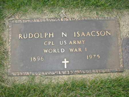 ISAACSON, RUDOLPH N - Douglas County, Nebraska | RUDOLPH N ISAACSON - Nebraska Gravestone Photos