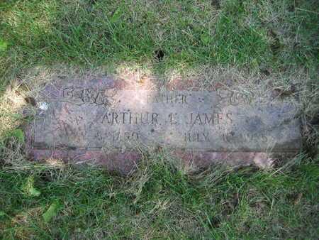 JAMES, ARTHUR LESLIE - Douglas County, Nebraska | ARTHUR LESLIE JAMES - Nebraska Gravestone Photos