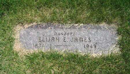 JAMES, ELIJAH E - Douglas County, Nebraska | ELIJAH E JAMES - Nebraska Gravestone Photos