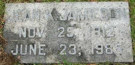 JAMIESON, JEAN KATHRYN - Douglas County, Nebraska   JEAN KATHRYN JAMIESON - Nebraska Gravestone Photos