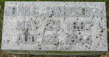 JAMIESON, JOHN G. - Douglas County, Nebraska | JOHN G. JAMIESON - Nebraska Gravestone Photos