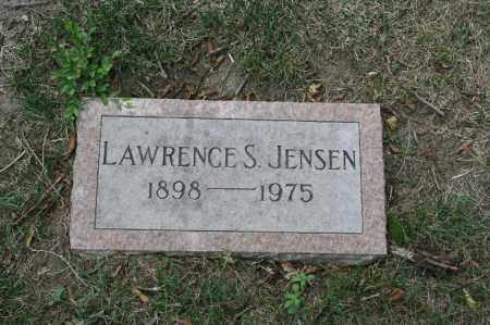 JENSEN, LAWRENCE S. - Douglas County, Nebraska | LAWRENCE S. JENSEN - Nebraska Gravestone Photos