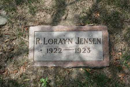 JENSEN, R. LORAYN - Douglas County, Nebraska | R. LORAYN JENSEN - Nebraska Gravestone Photos