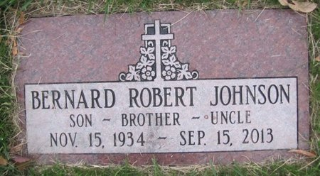 JOHNSON, BERNARD ROBERT - Douglas County, Nebraska | BERNARD ROBERT JOHNSON - Nebraska Gravestone Photos