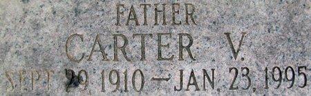 JOHNSON, CARTER V. (CLOSE UP) - Douglas County, Nebraska | CARTER V. (CLOSE UP) JOHNSON - Nebraska Gravestone Photos