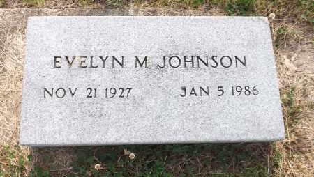 JOHNSON, EVELYN M. - Douglas County, Nebraska | EVELYN M. JOHNSON - Nebraska Gravestone Photos