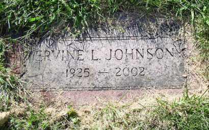 JOHNSON, ERVINE L. - Douglas County, Nebraska | ERVINE L. JOHNSON - Nebraska Gravestone Photos