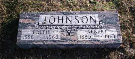 JOHNSON, ALBERT - Douglas County, Nebraska | ALBERT JOHNSON - Nebraska Gravestone Photos