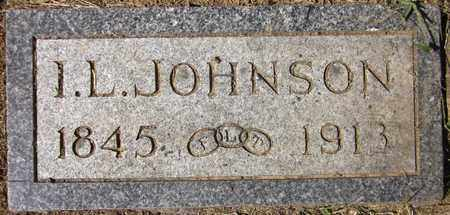 JOHNSON, I.L. - Douglas County, Nebraska | I.L. JOHNSON - Nebraska Gravestone Photos