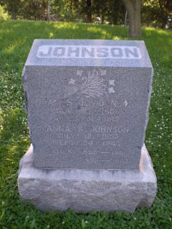 JOHNSON, ANNA K - Douglas County, Nebraska | ANNA K JOHNSON - Nebraska Gravestone Photos