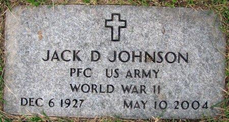 JOHNSON, JACK D. - Douglas County, Nebraska | JACK D. JOHNSON - Nebraska Gravestone Photos