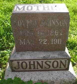 JOHNSON, LOUISA - Douglas County, Nebraska   LOUISA JOHNSON - Nebraska Gravestone Photos