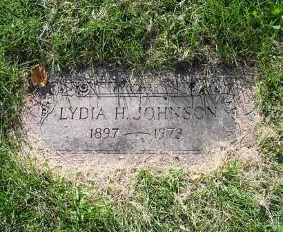 JOHNSON, LYDIA H. - Douglas County, Nebraska | LYDIA H. JOHNSON - Nebraska Gravestone Photos