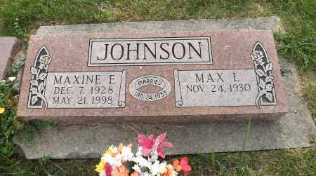 JOHNSON, MAXINE E. - Douglas County, Nebraska | MAXINE E. JOHNSON - Nebraska Gravestone Photos